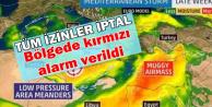 Tüm İzinler İptal Edildi-Kırmızı Alarm Verildi-İşte Kasırga Saati