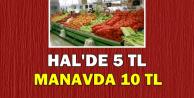 Üreticide 5 TL, Manavda 10 TL