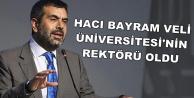 Yusuf Tekin Hacı Bayram Veli Üniversitesi'nin Rektörü Oldu