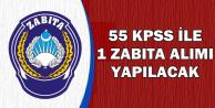 2016 KPSS ile Zabıta Memuru Alınacak