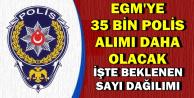 35 Bin Polis Alımı Daha Yapılacak (POMEM-PÖH-PMYO-PAEM Sayı Dağılımı)