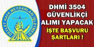 DHMİ 3504 Personel Alımında Şartlar