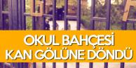 Diyarbakır'da Lise Bahçesi Kan Gölüne Döndü