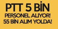 Duyuru Bugün Geliyor, PTT'ye 55 Bin Yeni Personel Daha Alınacak!