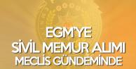 EGM'ye Sivil Memur Alımı Meclis Gündeminde! '66 Bin Polis Var, Yerine Sivil Memur Alımı Yapılsın!'
