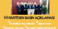 İYİ Parti'den MEB'e 'Öğrenci Andı' Tepkisi