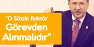 İYİ Partili Türkkan'dan Harran Üniversitesi Rektörüne Tepki : Bu Şirkle Eş Değerdir