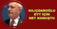 Kılıçdaroğlu Yaşa Takılanlar (EYT) için Net Konuştu