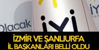 Koray Aydın, İzmir ve Şanlıurfa İl Başkanlarını Açıkladı