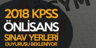 KPSS Önlisans Sınav Yerleri Duyurusu için Bekleyiş Sürüyor