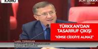 Lütfü Türkkan: Cumhurbaşkanı Kendi Maaşına Zam Yaptı, Kimseyi Tasarrufa Davet Etmesin