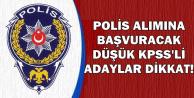POMEM'e Başvuracak Düşük KPSS'li Adaylar Dikkat !