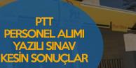 PTT Sözleşmeli Personel Alımı Yazılı Sınavı Kesin Sonuçları Açıklandı