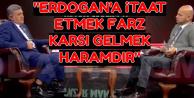 Rektör: Erdoğan'a İtaat Etmek  Farz, Karşı Gelmek Haramdır