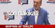Son Dakika! Cumhurbaşkanı Erdoğan'dan 'Af' Açıklaması 'Talimatı Verdim'