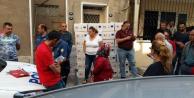 Suriyeli İki Aileye Gelen 150 Kg Yardım Kolisi Mahalleyi Ayağa Kaldırdı