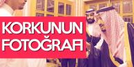 Suudi Kral Selman, Kaşıkçı'nın Ailesini Konuk Etti (Korku Gözlerden Okundu)