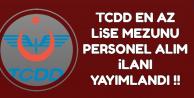 TCDD Personel Alımı İlanı Yayımlandı-Başvurular İŞKUR'dan