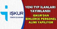 Yeni TYP Personel Alım İlanları İŞKUR'da Yayımlandı-İşte TYP Başvuru Ekranı