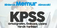 2018 KPSS Ortaöğretim, Önlisans, Lisans Düzeyinden Memur Alımı Tercih Kılavuzu Bekleniyor