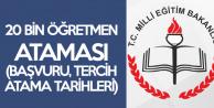 20 Bin Sözleşmeli Öğretmen Ataması Ön Başvuruları 19 Kasım'da Alınacak