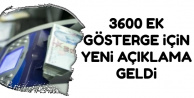 3600 Ek Gösterge İçin Yeni Gelişme !