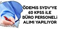 60 KPSS ile Kadrolu Büro Memuru Alım İlanı Yayımlandı