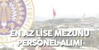 Atatürk Üniversitesi Mülakatsız En Az Lise Mezunu Personel Alımı Başvuruları 29 Kasım'da Sona Erecek