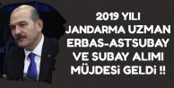 Bakan Soylu'dan Jandarma Uzman Erbaş-Astsubay-Subay Alımı Müjdesi
