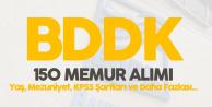 BDDK Açıktan 150 Yeni Memur Alımı için Sınav Başvuruları Devam Ediyor