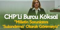 Burcu Köksal'dan MHP'li Öztürk'e Sert Tepki: Milletin Sorunları 'Sulandırma' Olarak Görülemez