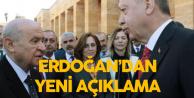 Cumhurbaşkanı Erdoğan'dan 'Yerelde İttifak' Açıklaması