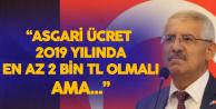 Fahrettin Yokuş 'Asgari Ücrete 2019 Yılında İki Zam Yapılmalı'