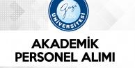 Gazi Üniversitesi'ne 52 Akademik Personel Alımı Yapılacak