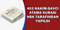 HSK Kararı Resmi Gazete'de: İşte Ataması Yapılan Hakim ve Savcılar