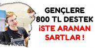 İŞKUR'dan Gençlere 800 TL Destek-İşte Şartlar