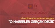 İYİ Parti'den Belediye Başkanı Adaylarıyla İlgili Yeni Açıklama