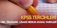 KPSS Ön Lisans Sonuçları ÖSYM Tarafından 29 Kasım'da İlan Edilecek (KPSS Ortaöğretim, Ön Lisans, Lisans Tercih Tarihleri)