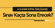 KPSS Önlisans Başlama Saati (KPSS Ön Lisans Kaç Saat Sürecek, Saat Kaçta Sona Erecek)