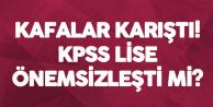 KPSS Ortaöğretim'e Girenler Kamu İşçisi Olmak için Kuraya Girecekler