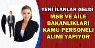 KPSS'siz-Düşük KPSS ile MSB ve Aile Bakanlığı İŞKUR'dan Kamu Personeli Alımı Yapıyor