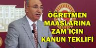 Mahmut Tanal Öğretmen Maaşlarına Zam İçin Atatürk'ün O Sözünü Hatırlattı