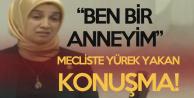 Mecliste Yürek Yakan Konuşma! Bursa Milletvekili Mecliste Konuştu, Herkesin Gözleri Doldu