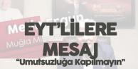 Metin Ergun'den EYT Açıklaması: Umutsuzluğa Kapılmayın