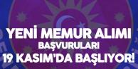 MGK'ya Yeni Memur Alımı Başvuruları 19 Kasım'da Başlayacak