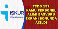 TCDD Kamu Personeli Alımı Başvuru Ekranı Sonunda Açıldı