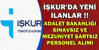 Yeni İlanlar Geldi: Adalet Bakanlığı İŞKUR'dan Sınavsız Personel Alımı