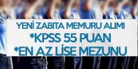 Yeni Zabıta Memuru Alım İlanı Yayımlandı! En Az Lise Mezuniyeti ve KPSS 55 Puan Şart