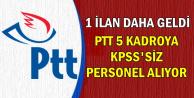 1 İlan Daha Eklendi: En Az 2 Bin TL Maaşla PTT Personel Alımı-KPSS Şartsız