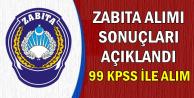 40 Zabıta Alımı Sonuçları Açıklandı: 99 KPSS ile Alım Oldu